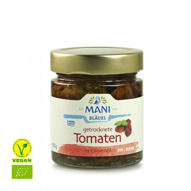 Getrocknete Tomaten in Olivenöl, Griechenland, bio, 180g