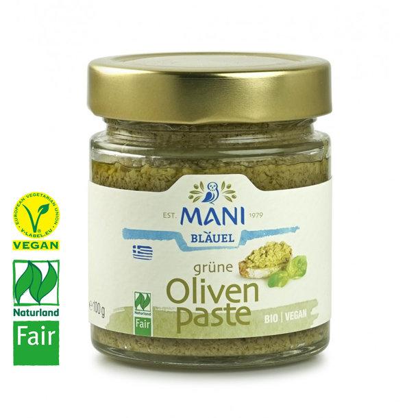 Grünes Olivenpaté, Bio, Vegan, Naturland Fair, 180g