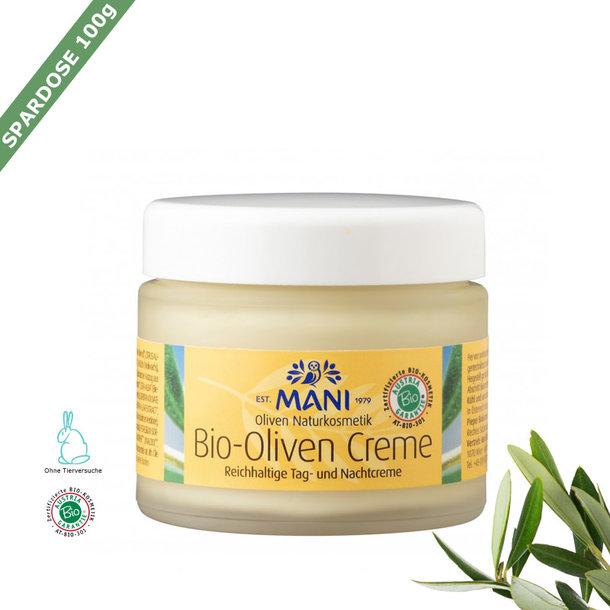 Organic olive cream (skin cream), Greece, organic, 100g