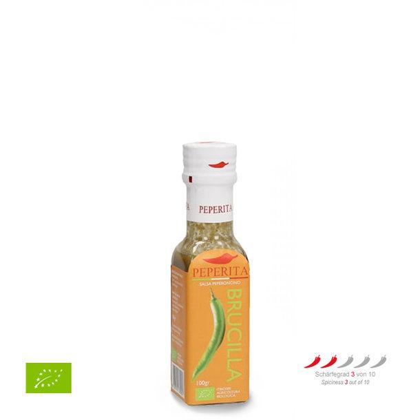 Chili Sauce Brucilla, salsa peperoncino, bio, 100g