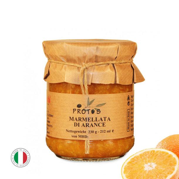 Orangen-Marmelade, Marmellata di Arance, 230g