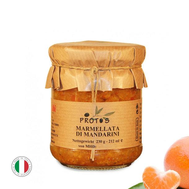 Mandarinen-Marmelade, Marmellata di Mandarini, 230g