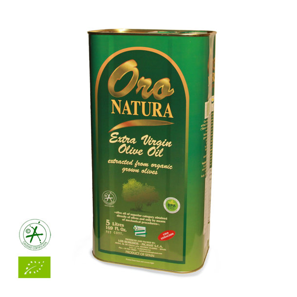 Oro Natura, Andalusien, natives Olivenöl extra, bio, 5l