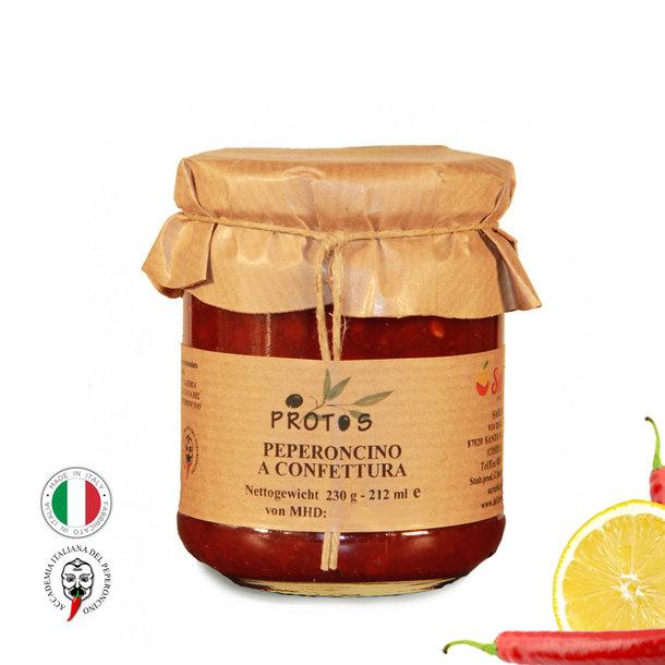 Chili Jam, Peperoncino a confettura, 230 g
