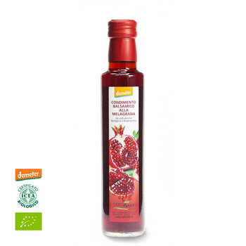 Pmegranate-Balsamico, Condimento Balsamico Alla Melagrana, organic, Demeter, 250ml