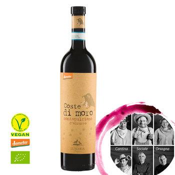 COSTE DI MORO Montepulciano d\'Abruzzo DOP, Organic, Demeter 0,75l